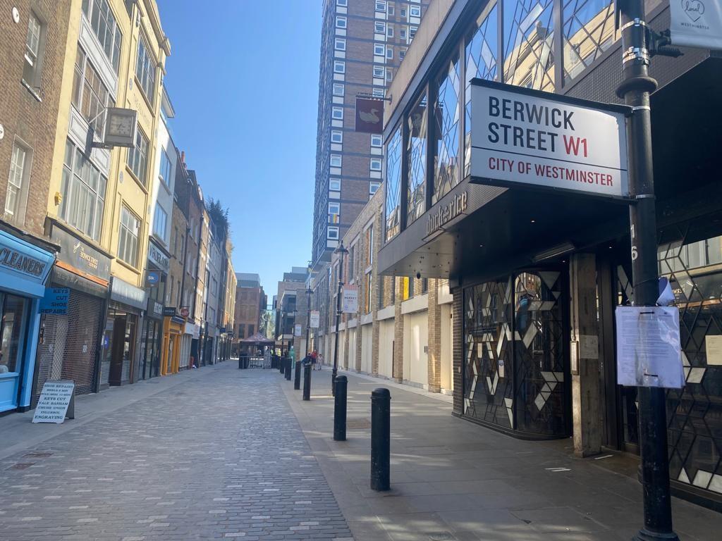 London Soho Hub By Premier Inn Berwick Street Signage April 21