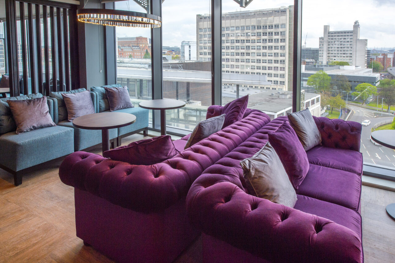 The Manchester City Centre (princess Street) Premier Inn Opened On 7th May And Offers Skyline Views From The 9th Floor Restaurant And Guest Bedrooms Above