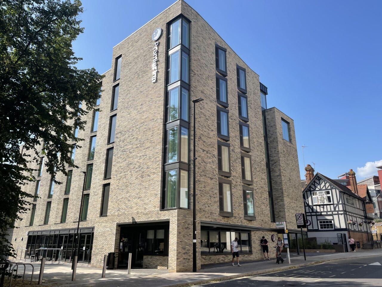 Premier Inn Oxford Website