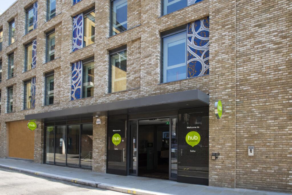 Hopkins Street Entrance London Soho Hub By Premier Inn
