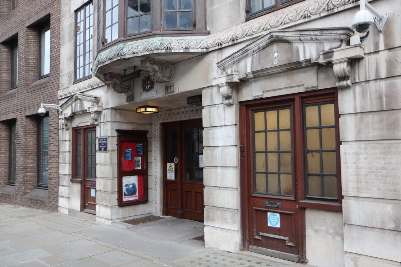 Snow Hill, Farringdon (entrance) Current Building