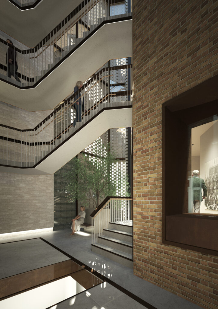Hub By Premier Inn Snow Hill Internal Atrium Courtesy Of Axiom Architects